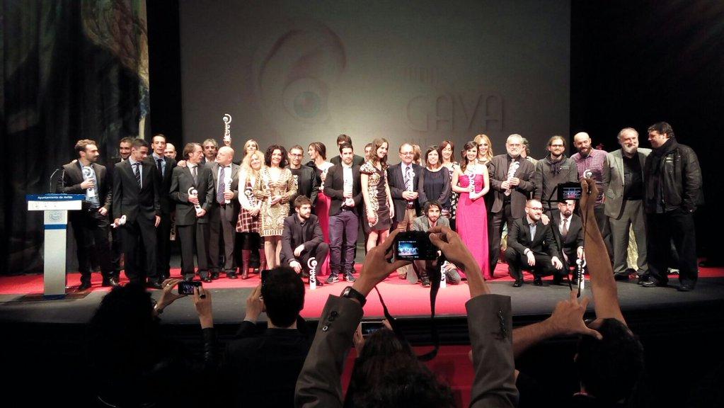 Ganadores de los premios Gava 2015